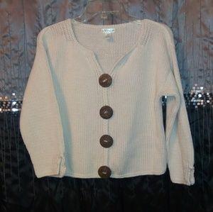 Caravan 100% Cotton Cropped Sweater